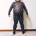 ZOZOスーツを体重100kgの太った人が着てみた写真がヤバイ。