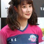 浜本由惟の胸のカップがヤバイ。元モデルで卓球選手とは思えないほどかわいいと評判。